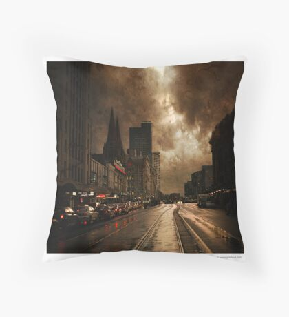 Dirty Old Town Throw Pillow