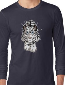 STUCK - White Tiger Long Sleeve T-Shirt