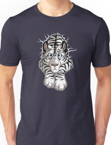 STUCK - White Tiger Unisex T-Shirt