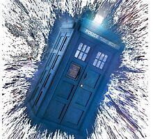 The Doctor's Radiating Tardis by toriecheer