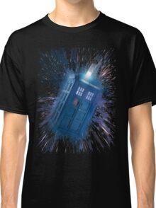 The Doctor's Radiating Tardis Classic T-Shirt