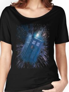 The Doctor's Radiating Tardis Women's Relaxed Fit T-Shirt