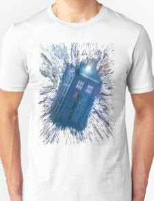 The Doctor's Radiating Tardis T-Shirt