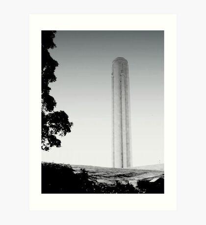 Liberty Memorial at Dawn, Kansas Art Print
