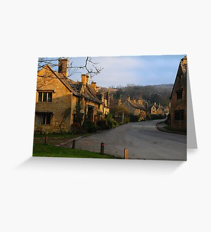 Stanton, Cotswolds, UK Greeting Card