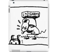 Ignatz comic iPad Case/Skin