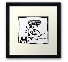 Ignatz comic Framed Print