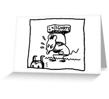 Ignatz comic Greeting Card