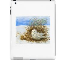 SNOWY OWL WINTER VISITOR iPad Case/Skin