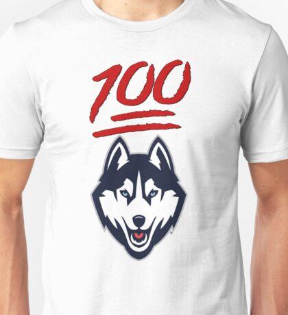 Uconn Huskies 100th Straight Win Unisex T-Shirt
