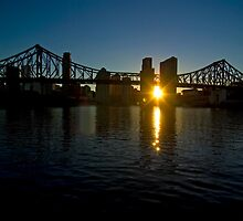 Storey Bridge Sunset by BigRed