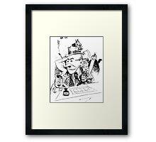 Herriman's Krazy Kat  Framed Print
