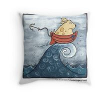 Hydrophobia Throw Pillow