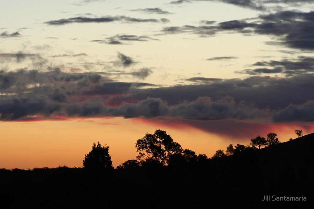Sunset by Jill Santamaria