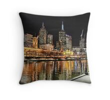 Melbourne Series - Skyline Throw Pillow