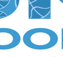 SK Hoops - Fan Gear Light Blue Sticker