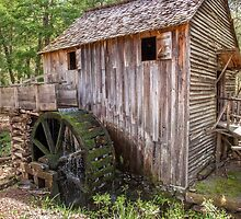 Gristmill at Cades Cove by David R. Anderson