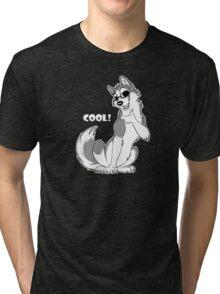 COOL - Husky Grey Tri-blend T-Shirt