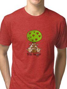 Tree huggers Tri-blend T-Shirt