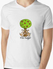 Tree huggers Mens V-Neck T-Shirt