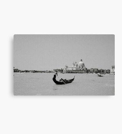 Venice Canale Grande Canvas Print