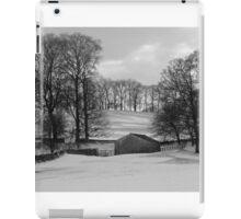 Snowy Yorkshire Dales Scene iPad Case/Skin