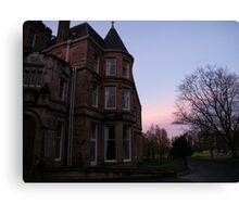 Eastwood House, Glasgow, (2) Canvas Print