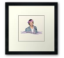 Stan - Sunshine Prince Framed Print