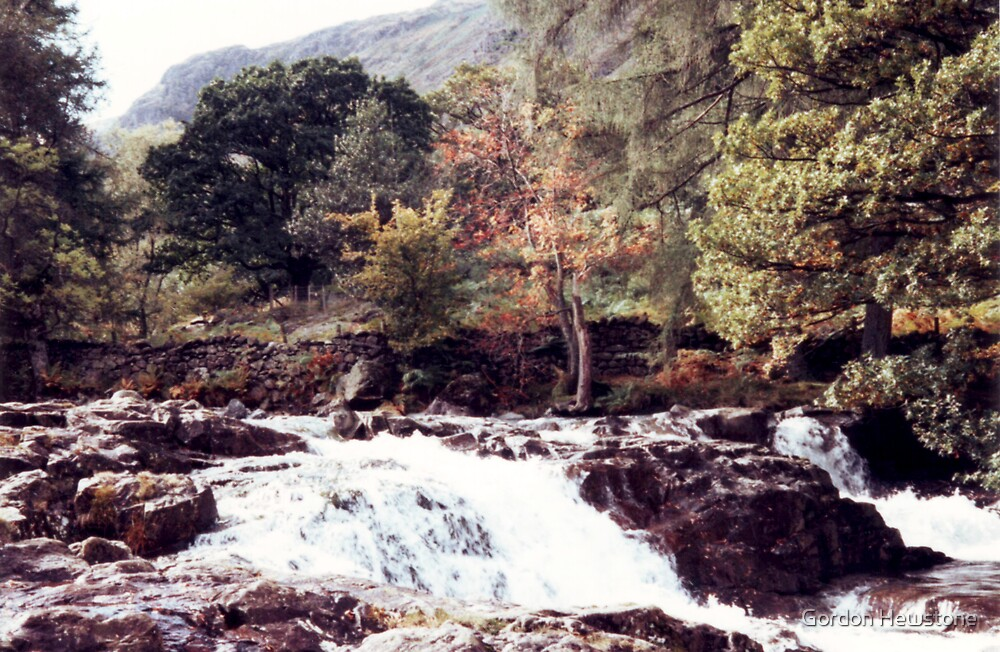 Langstrath Beck by Gordon Hewstone