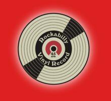 Rockabilly Vinyl Record by mayala