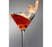 Flaming Martini by eapphotog