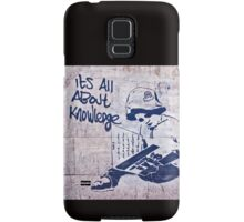 It's all about knowledge Samsung Galaxy Case/Skin