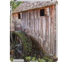 Gristmill at Cades Cove iPad Case/Skin