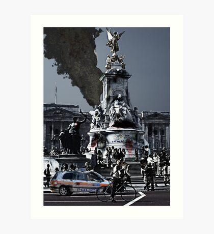 Buckingham World War 3 Art Print