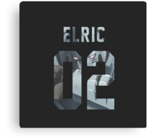 Elric jersey #02 Canvas Print