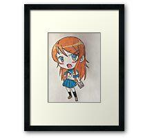 Chibi Kirino Framed Print