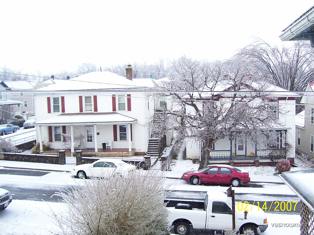 and they say it never snows in Virginia by vasnowman