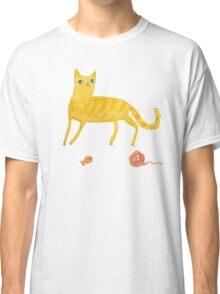 Nice Ginger Cat Classic T-Shirt