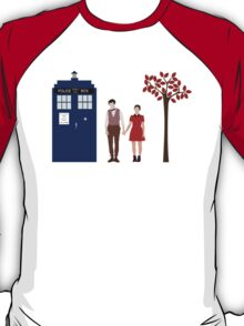 Clara and the 11th Doctor T-Shirt