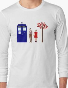 Clara and the 11th Doctor Long Sleeve T-Shirt