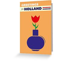 GREETINGS FROM HOLLAND [Tulip] Greeting Card