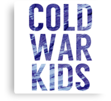 Cold War Kids Canvas Print
