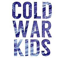 Cold War Kids Photographic Print