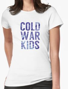 Cold War Kids Womens Fitted T-Shirt
