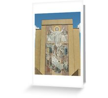 Hesburgh Library-University of Notre Dame Greeting Card