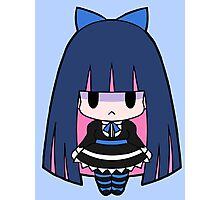 Stocking Chibi Photographic Print