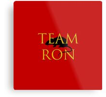 Team Ron Metal Print