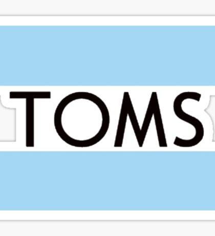 Tom shoes Sticker
