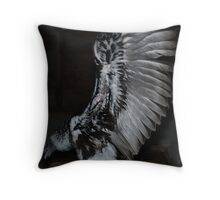 Turkey Vulture wings Throw Pillow