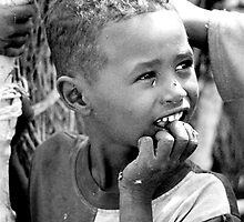 Sudanese boy by Malin Nordlund